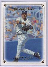 2007 UD Masterpieces #30 Derek Jeter - Yankees