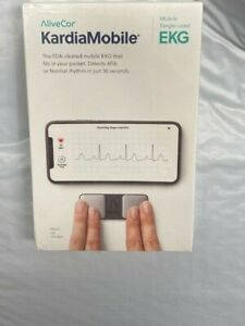 AliveCor Kardia Mobile Single Lead Electrocardiogram 30 Second EKG Detection