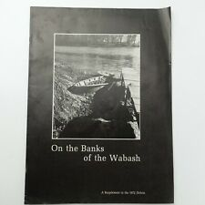 On The Banks of The Wabash Supplement to The 1972 Debris