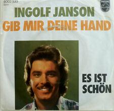 """7"""" 1976 VG+ INGOLF JANSON Gib mir Deine Hand P. ORLOFF"""