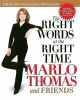 The Right Words at the Right Time, Marlo Thomas,074344650X, Book, Good
