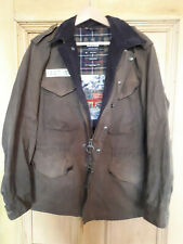 Rare Barbour Steve McQueen Collection Thunder Wax Jacket (M)