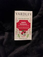 2 YARDLEY LONDON APPLE BLOSSOM-4.25 OZ- BAR SOAPS BRAND NEW AND BOXED
