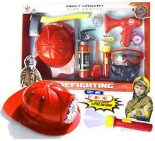 Set Pompiere Gioco Vigili del Fuoco Pompieri Giocattoli Luci e suoni