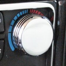 Hummer H2 Chrome Billet Aluminum AC Control Knob Covers (Set of 2) Made in USA