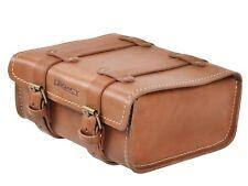 Hepco Becker cuir sac à outils marron 4 LITRES - Héritage arrière