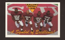 Southern Illinois Salukis-Damon Jones-1996 Football Pocket Schedule-Kroger
