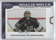 2012-13 Certified Goalie Pulls Jonathan Quick #GP16