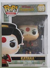 Funko POP Heroes Katana #169 DC Comics Bombshells Vinyl Figure - Suicide Squad