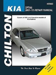 Repair Manual-EX Chilton 42980 fits 2001 Kia Optima