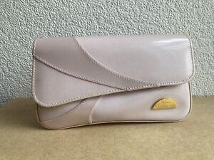Vintage Christian Dior Parfums Perfume Make Up Cosmetic Bag Pink - Unused