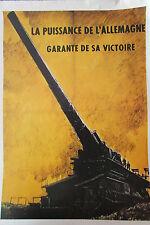 WW2 Kopie Plakat Krieg 1939 - 1945 Power Deutschland Garante Ihrer Victory