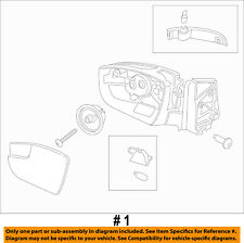 FORD OEM 17-18 Escape FRONT DOOR-Mirror Assembly Left GJ5Z17683EA