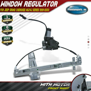 Window Regulator for Jeep Grand Cherokee 1999 2000 WG WJ With Motor Front Right