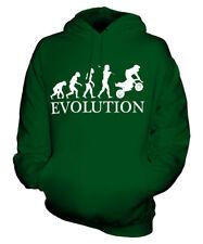 MINI MOTO EVOLUTION OF MAN UNISEX HOODIE MENS WOMENS LADIES GIFT 50CC