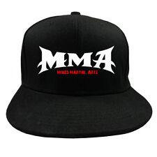 """FIST FULL® Base Cap """"MMA"""" Mütze schwarz Mixed Martial Arts Kampfsportler Boxen"""