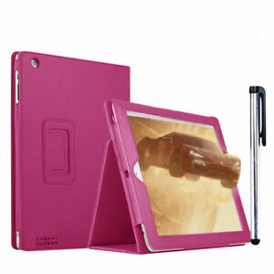 Smart Magnetic Leather Flip Stand Case Cover For Samsung Tab E/ Tab A6 T580/T590