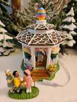 Dept 56 Snow Village - Easter Bunny Gazebo