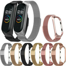 Milanaise Edelstahl Uhrenarmband Armband Ersatz Strap für Xiaomi Mi Band 3 4 5