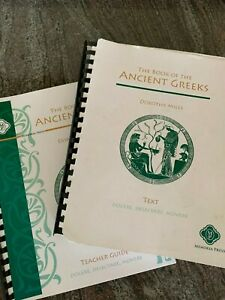 Dorothy Mills Book of the Ancient Greeks Text & Teacher Memoria Press FREE SHIP