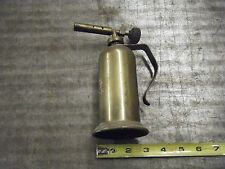 vintage old blo torch brass  smalle decorative man cave