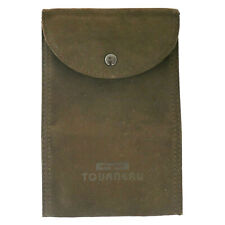 AUTHENTIC TOURNEAU BROWN LARGE SUEDE TRAVEL POUCH