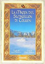 EXTREMELY RARE MAP OF THE SILMARILLION ~ TOLKIEN
