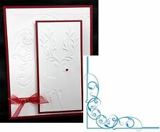 Regal Corner embossing folder - Crafter's Companion embossing folders frame