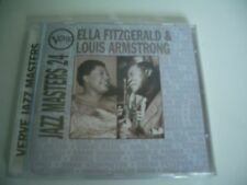 ELLA FITZGERALD & LOUIS ARMSTRONG CD JAZZ MASTERS 24. VERVE.521 851-2.