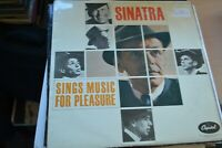 FRANK SINATRA   SINGS MUSIC FOR PLEASURE      LP    MFP     MFP 1120  MONO