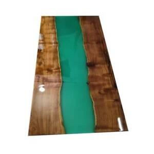 "60"" x 30"" Epoxy Resin Coffee Table Top / epoxy Home Office Decor"