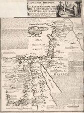 A4 Reprint of Map 1798 Arabia & Deserts