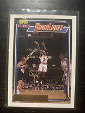 1992-93 Topps #3 Michael Jordan Highlight NBA Finals Chicago Bulls