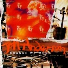CHANGE WE MUST JON ANDERSON YES VOCALIST VANGELIS SOLO CD 12 SONGS