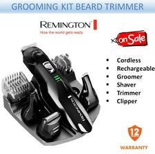 Remington Mens Grooming Kit Cordless Rechargeable Shaver Trimmer Clipper Beard