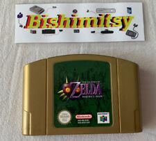 The Legend Of Zelda Majora's Mask - N64 Game Cart - Rare