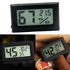 Mini Digital LCD Indoor Temperature Humidity Meter Thermometer Hygrometer Tool