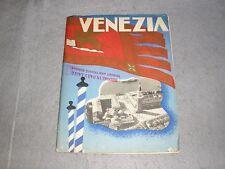 1936 Venezia Venice Italy Italian Travel Brochure Tourism ENIT Tour Book WWII