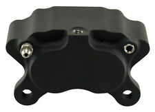 Ultima Black 4 Piston Caliper w/ Pads for Harley Models & Custom Applications