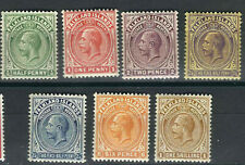 Falkland Is Stamps 41-47 SG 73-79 KGV MLH (Mostly) VF 1921-28 SCV $100.50