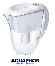 Aquaphor IDEALE ACQUA FILTRO BROCCA CARAFFA BIANCO 2.8 L sostituzione CARTUCCIA compresa.