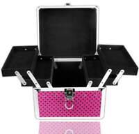 NeoNail Kosmetikkoffer Beauty Case PINK Schmuckkoffer Friseurkoffer Koffer TOP