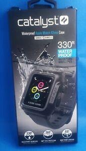 Catalyst Band Waterproof Case for Apple Watch 42mm (Series 2 Series 3) - GRAY