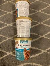 3pack NaturVet Quiet Moments Plus Melatonin Dog Soft Chew Fireworks Travel 70 ct