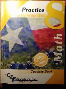 Practice Step Up to the TEKS 8th Math Practice Teacher Ed.