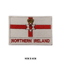 Northern Ireland National Flag Embroidered Patch Iron on Sew On Badge