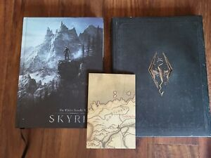 The Elder Scrolls V: Skyrim Collector's Guide, Art Book, and Limited Edition Map