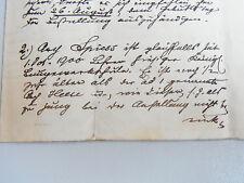Baugewerkschule BUXTEHUDE 1903: Beurteilung der Lehrer / Handschrift, Unikat