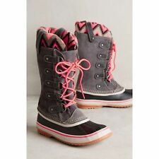 Sorel JOAN of Arctic Knit 2 II Women waterproof Snow winter Boots Shale GRAY 7.5
