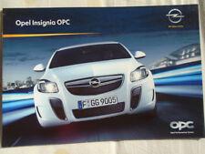 Opel Insignia OPC brochure Jul 2009 German text